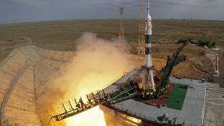 Εκτοξεύθηκε το ρωσικό διαστημόπλοιο Σογιούζ