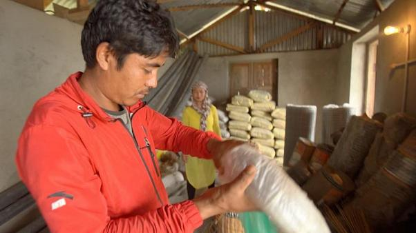 Low-cost building puts Nepal on road to recovery