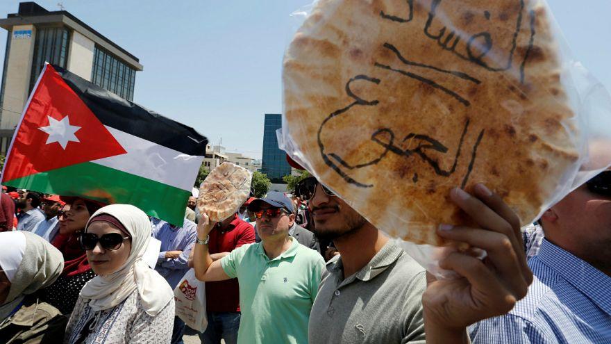 Jordán tüntetések: adnak egy esélyt