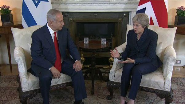 Iraeli and British PMs meet in London
