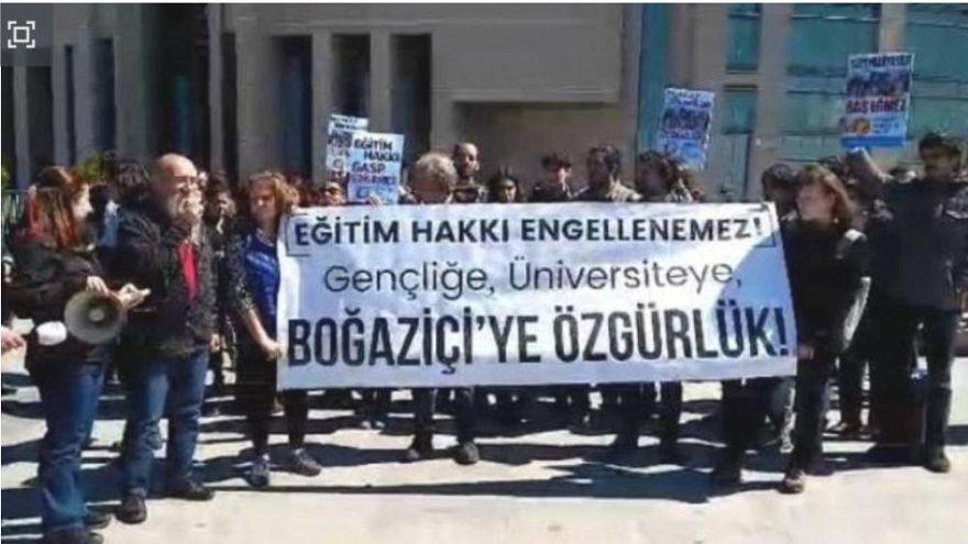 Boğaziçi Üniversitesi öğrencilerine tahliye