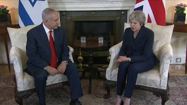 May falou com Netanyahu sobre a Faixa de Gaza