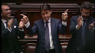 Парламент Италии поддержал правительство Джузеппе Конте