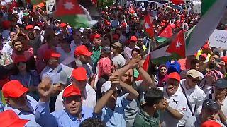 Las protestas no cesarán en Jordania