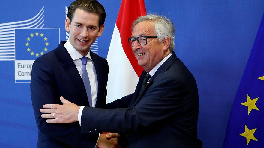 La migración, eje central de la presidencia austríaca de la UE