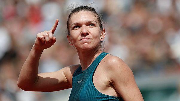 Roland-Garros : Halep en demi-finale, Nadal à la peine