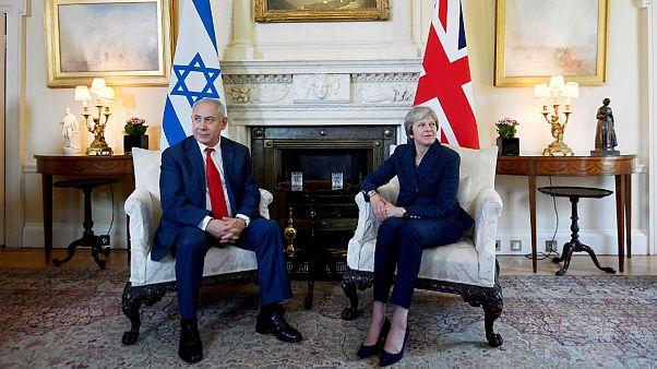 Theresa May - Benjamin Netanyahu