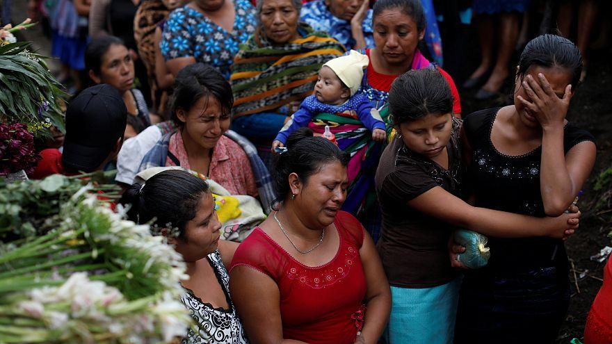 Guatemala'da 'ateş' volkanı 99 can aldı