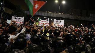 More anti-government protests in Jordan