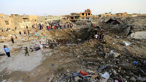 محل انفجار بغداد