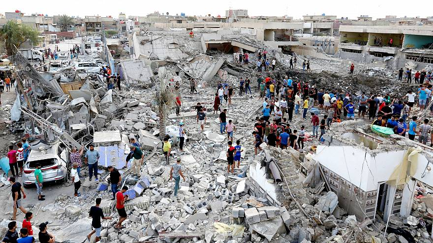 Irak'ta Şii mahallesinde bombalı saldırı: En az 18 ölü