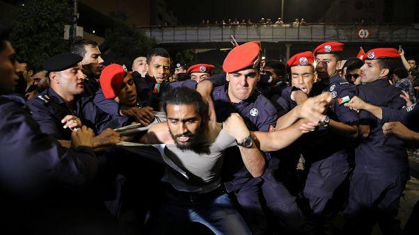 ادامه اعتراضها در اردن؛ اعتصاب اتحادیههای صنفی