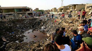 Мощный взрыв под Багдадом