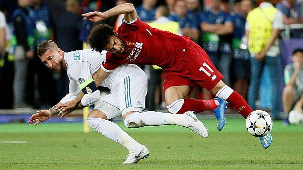 Siria: el agarrón de Ramos a Salah, pregunta en un examen de derecho