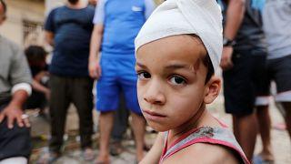 "Die Explosion fand in Bagdads Stadtteil ""Sadr City"" statt."