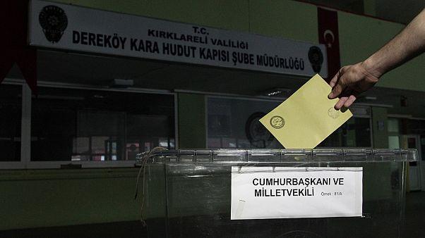 24 Haziran seçimleri için ilk oylar verildi