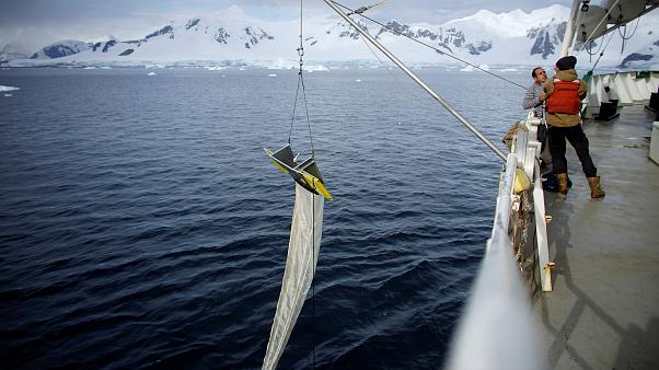 La Antártida también está plastificada