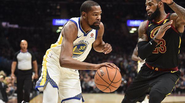 Finale NBA : Les Golden State Warriors bien partis