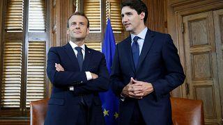 G7: Macron und Trudeau erwarten Streit mit Trump