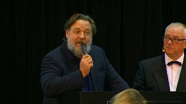 """Russell Crowe: 'Forza Roma!' per il bis de """"Il Gladiatore"""""""