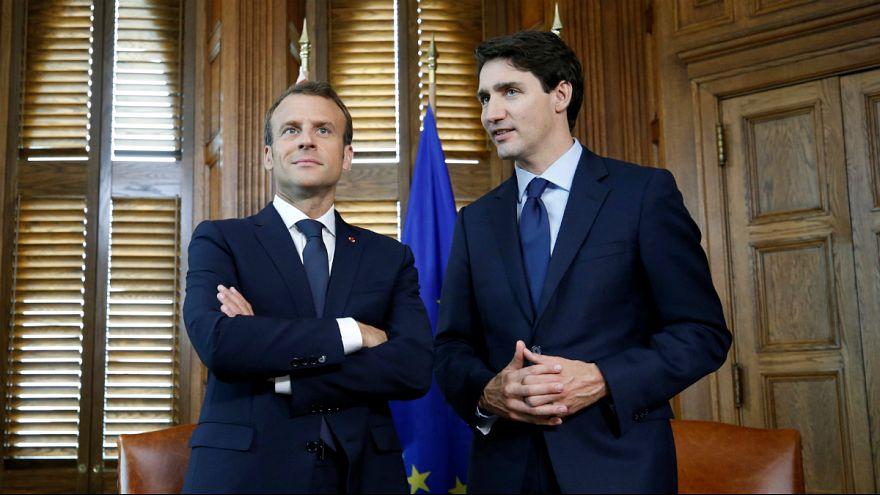 Kanadai-francia elnöki találkozó Ottawában