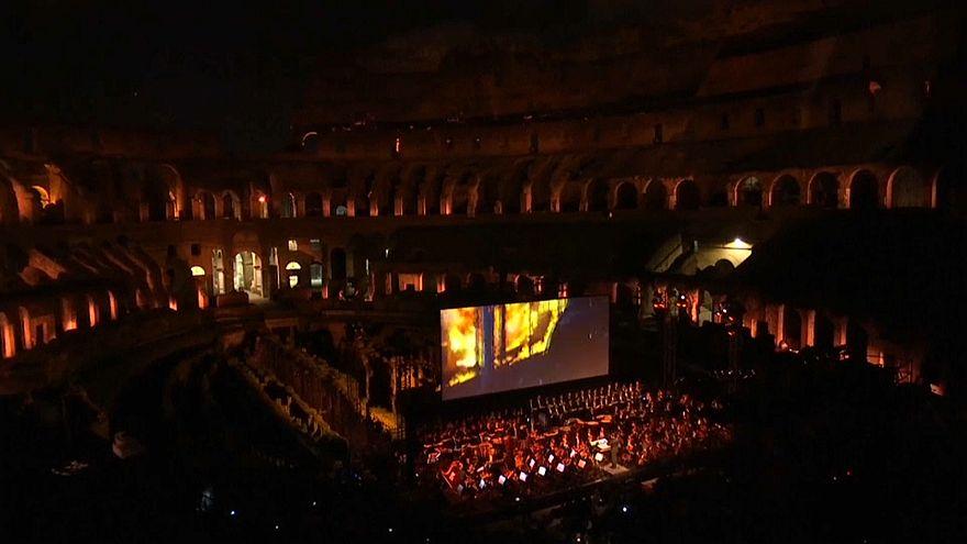 Gladiator gegen Polio - Live Open Air im Collosseum in Rom