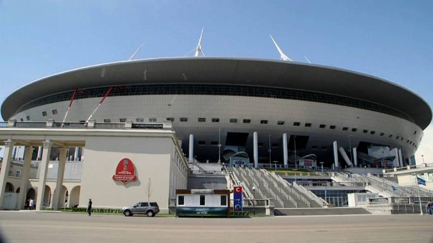 Russia's spectacular stadiums await World Cup kick-off
