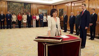 Hivatalban az új spanyol kormány