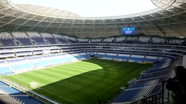 Fussball-Weltmeisterschaft 2018 in Russland: WM-Arenen