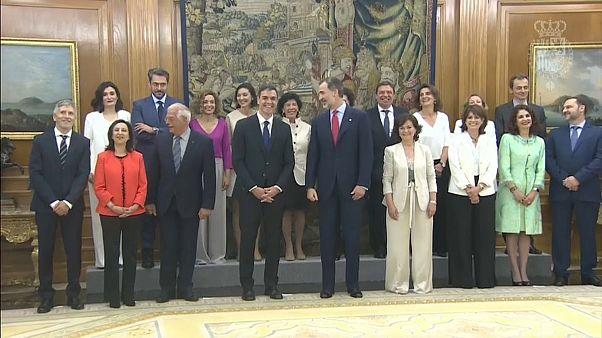 Espagne : un gouvernement 65% féminin