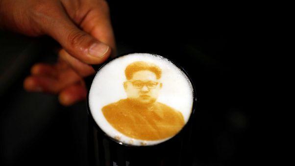 Όταν ο Κιμ Γιονγκ Ουν έγινε...καφέ λάτε!