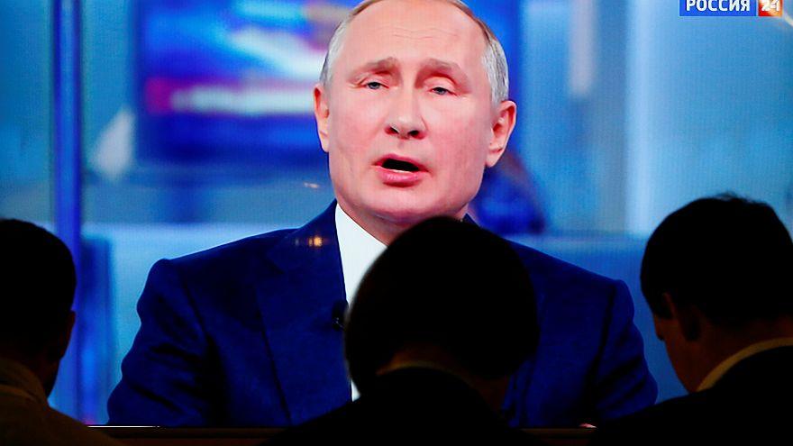Las sanciones, la guerra en Siria, el dopaje de Estado... Putin responde al otro lado de la línea