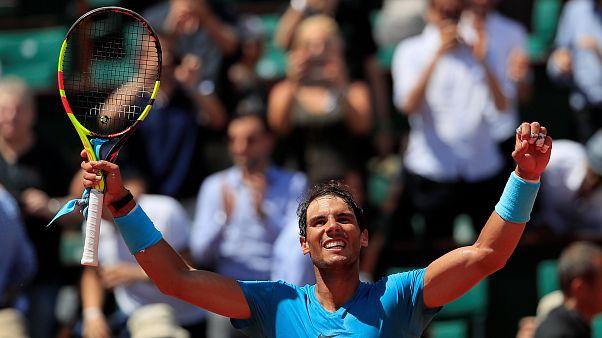 Nadal en semifinales de Roland Garros