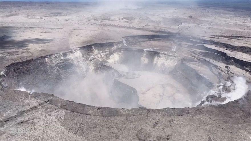 Извержение гавайского вулкана Килауэа продолжается