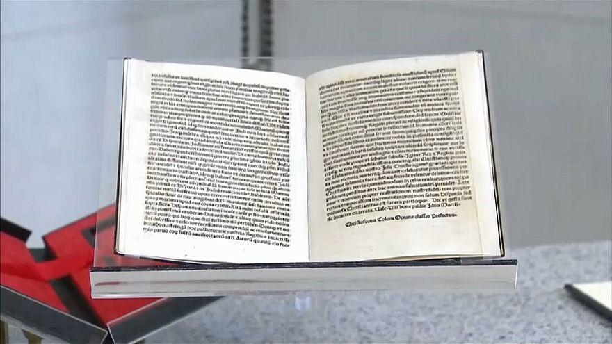Usa Zollermittler Geben Brief Von Christopher Kolumbus Zurück