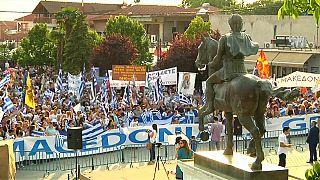 Makedonya ve Yunanistan arasında çözülemeyen isim krizinde son