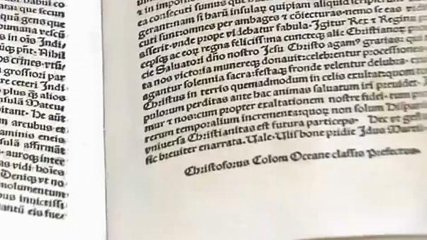 Spanish & American police recover stolen Columbus letter