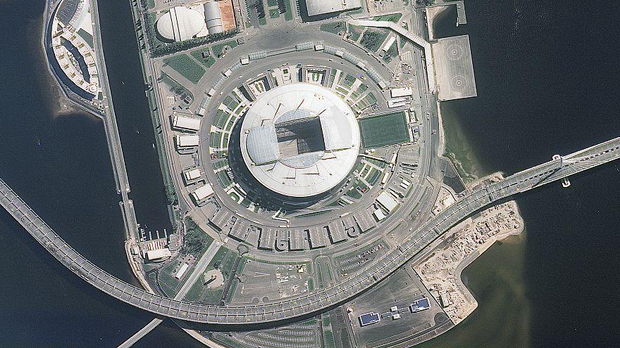 Los estadios del Mundial de Rusia