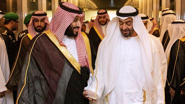 وليي العهد السعودي محمد بن سلمان والإماراتي محمد بن زايد آل نهيان - رويترز.