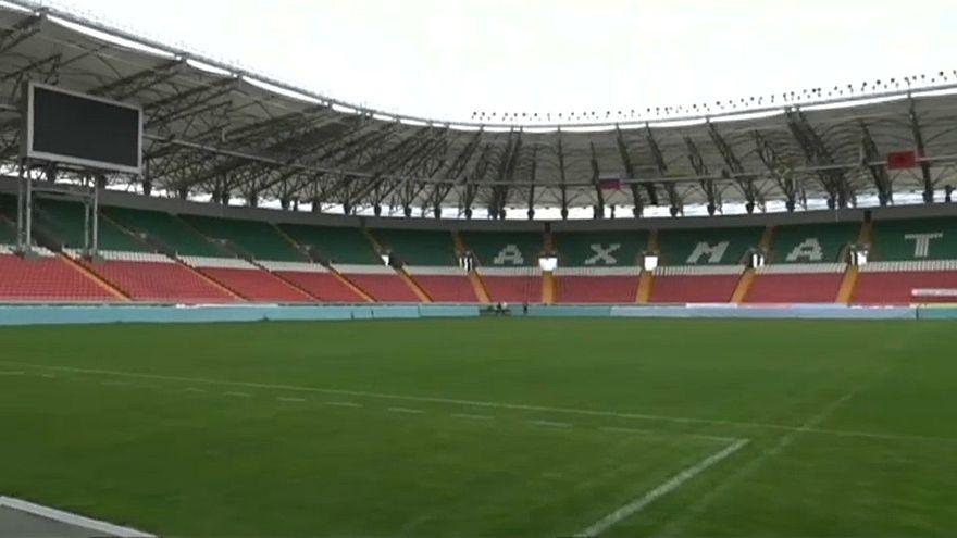 WM 2018: Ägyptens Fußballer nehmen Quartier in Grosny