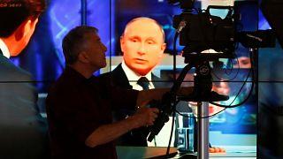 """""""Big Show Putin"""" na TV russa"""