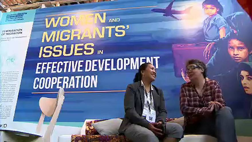 Les femmes toujours plus nombreuses sur les routes migratoires