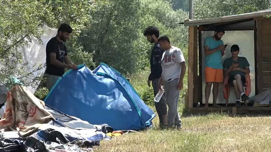 Steigende Flüchtlingszahlen auf dem Balkan