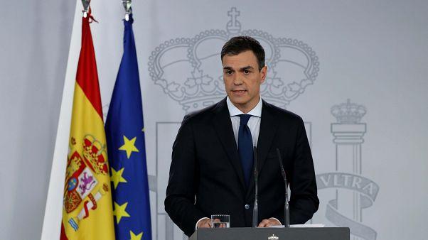 Le Premier ministre espagnol Pedro Sanchez