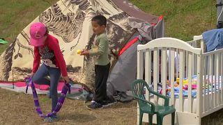 من مخيمات اللجوء