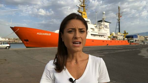 At sea on the world's deadliest migrant route