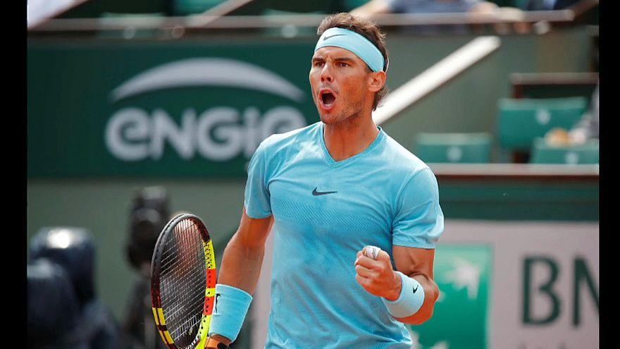 Надаль и Халеп на Roland Garros