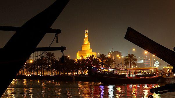 العاصمة القطرية، الدوحة، تصوير نسيم زيتون - رويترز.