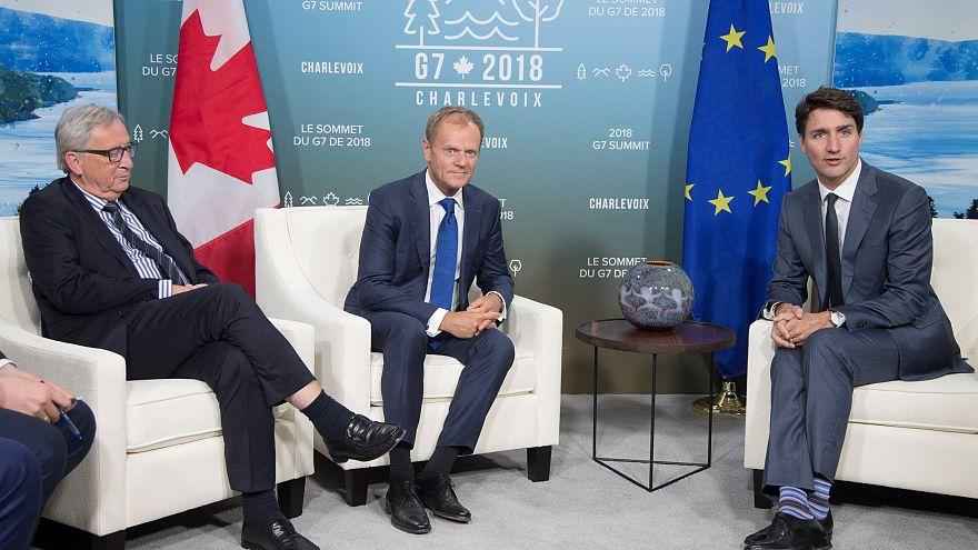 Un G7 à six contre un