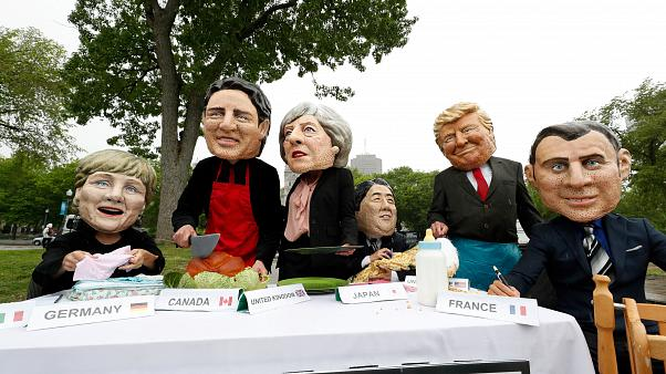 Todos contra Trump en la cumbre del G7